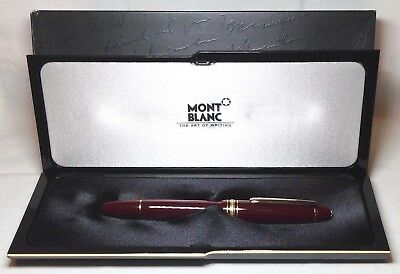 Montblanc Meisterstuck Bordeaux 146R Fountain Pen New In Box Product Medium Nib