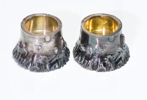 Russian Antique Ivan Petrowitsch Khlebnikov Silver Salts