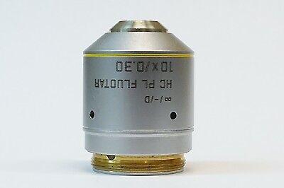 Leica Hc Pl Fluotar 10x0.30 -d Microscope Objective Pn 506505