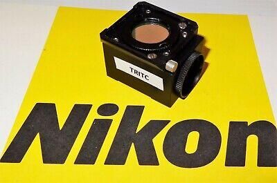 Nikon Tritc Fluorescent Microscope Filter Cube For Labophot Optiphot Microphot