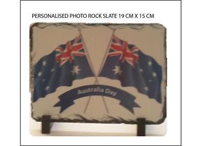 PERSONALISED/CUSTOMISED SLATES, ROCKS (19cm x 15 cm) Cranbourne Casey Area Preview