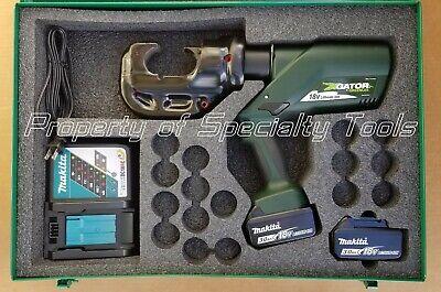 Greenlee Gator Ek1240cl Battery Hydraulic Crimper U Die Ek1240l Crimping Tool