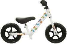 "Indi Adapt Balance Bike 10"" Plastic Wheels Strong Steel Frame Toddlers Kids"