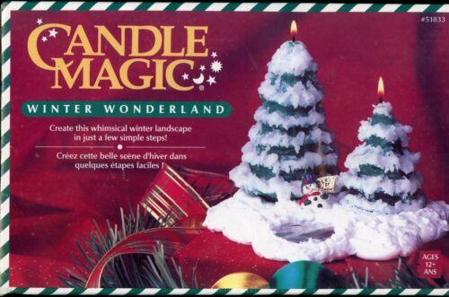 Candle Magic Winter Wonderland Candle Kit NEW & SHRINK-WRAPPED