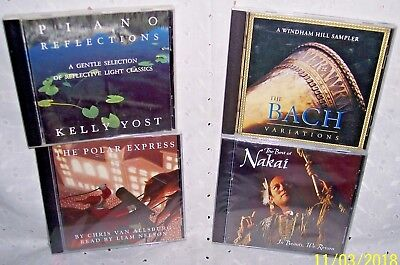 BACH,PIANO REFLECTIONS,BEST OF NAKAI, THE POLAR EXPRESS MUSIC CD U