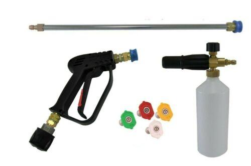 Quick Release Gun Lance & Snow Foam Lance & Wash Nozzles Karcher K2 To K4 Inlet