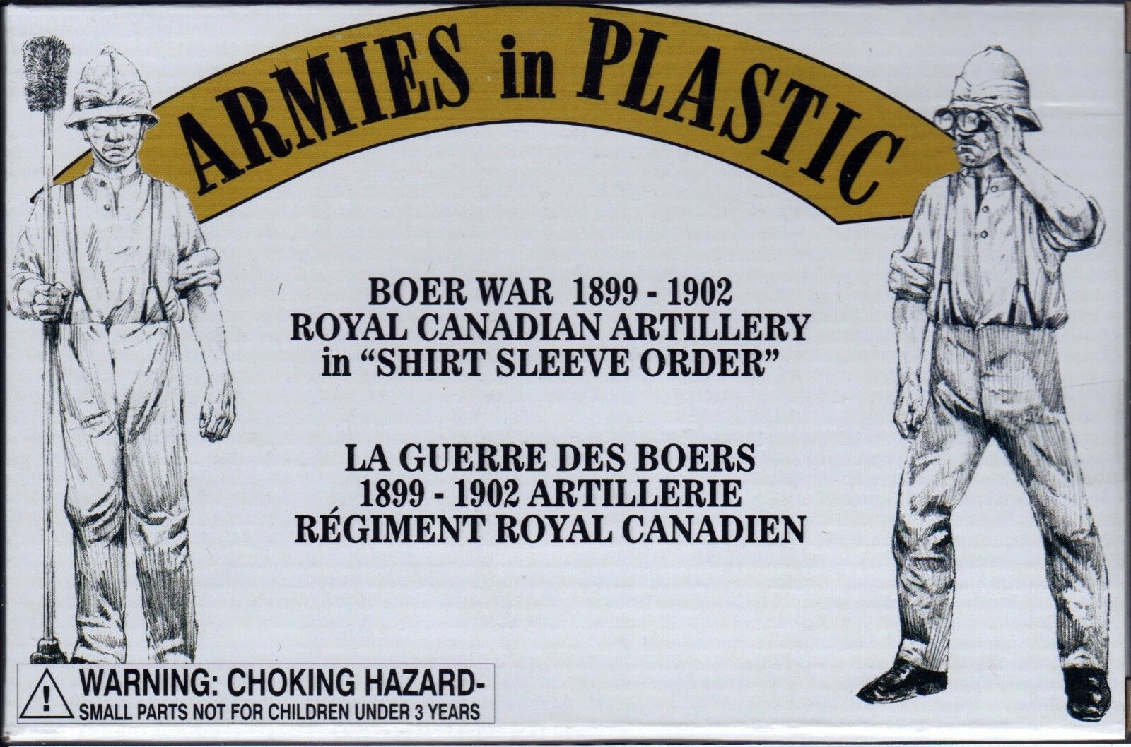 Armies in Plastic Boer War Royal Canadian Artillery Shirt Sleeve Order 54mm 1/32