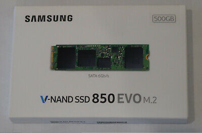 Samsung 850 EVO M.2 500GB M2 SATA Internal SSD MZ-N5E500 Flash Drive