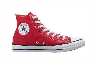 M9621 Converse Chuck (Converse Chuck Taylor All Star Hi Top Shoes M9621 - Red/White)