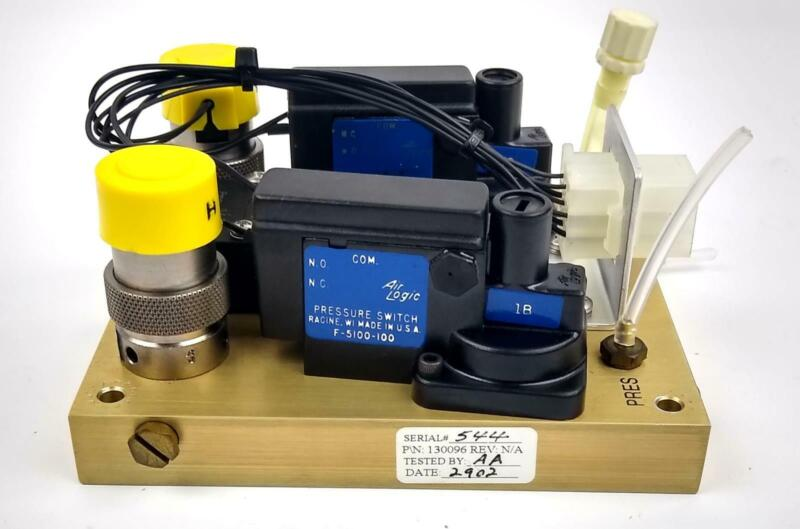 ABI 433A Peptide Synthesizer 130096 Vacuum Pump Assembly Module