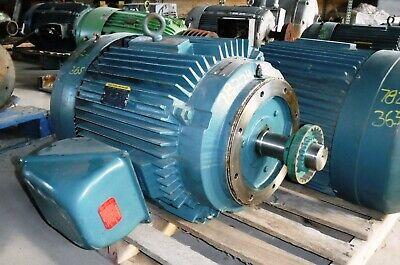 75 Hp Baldor Reliance Electric Motor 1800 Rpm 365tc Frame Tefc 460v