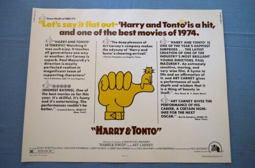 "Vintage Movie Poster, ""Harry & Tonto"" (1974)"