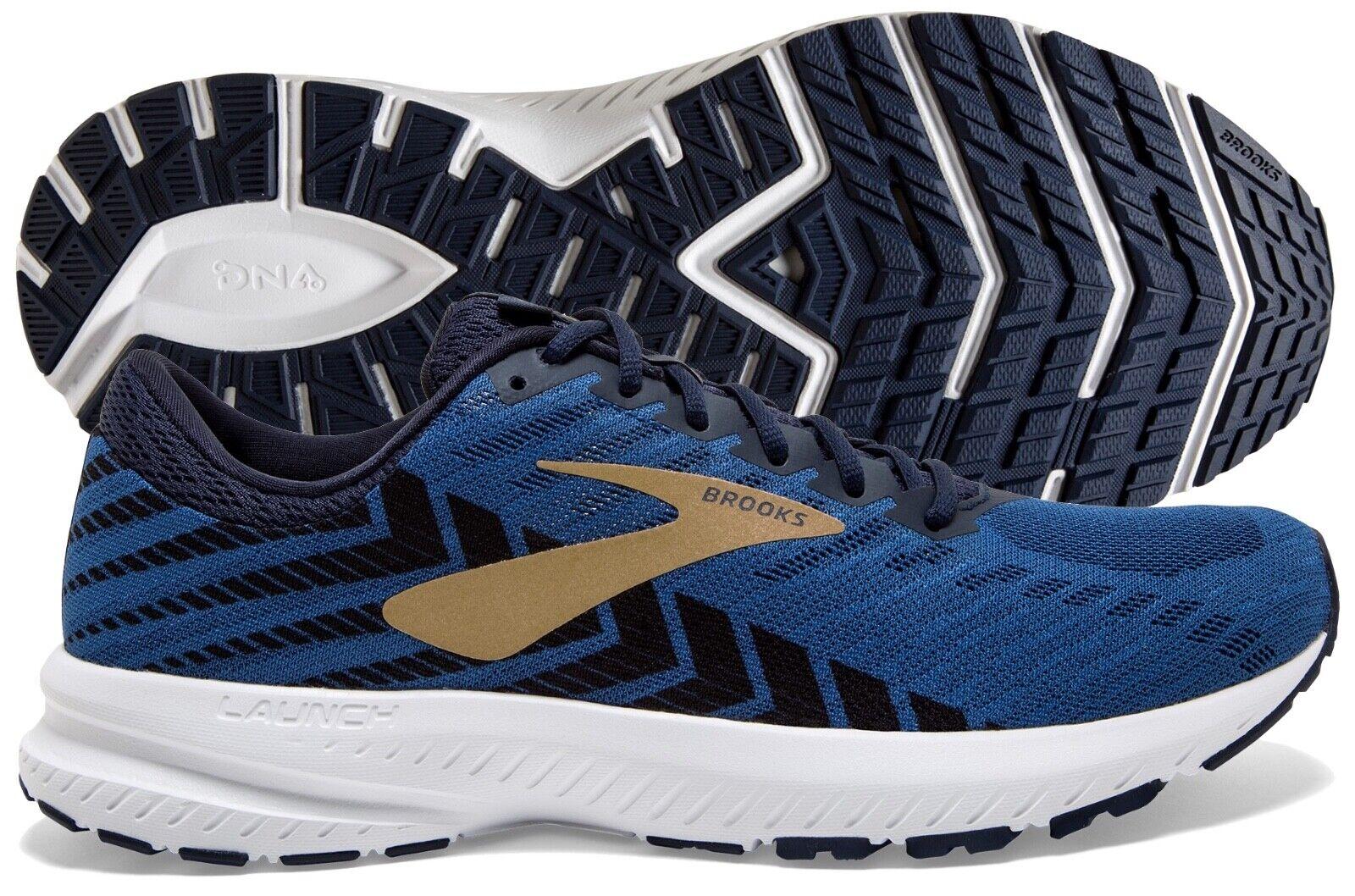 Brooks Launch 6 Men's Peacoat/Blue/Gold running shoe multi