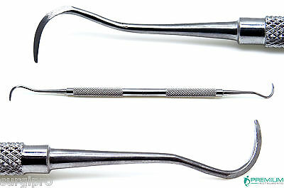 Sickle Scaler H6h7 Dental Instruments Periodontal Hygiene Double Ended