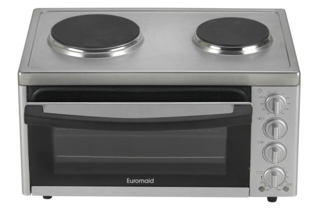 Electric Benchtop Conventional Oven Grill Bake Portable Cooktop Kichen Cooking