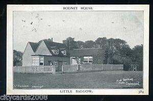 Essex   LITTLE BADDOW  Rodney House   Fred  Spalding No 384 (Little Baddow P/M)