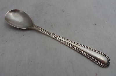 Victorian Silver Salt Spoon Charles Boynton London 1892 7.2g 9.6cm A602017