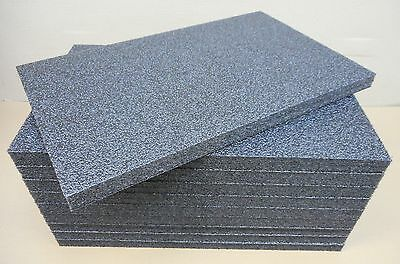 PE Hartschaum Platten Laminierter Schaumstoff 600x400x25mm VE 10Stck.