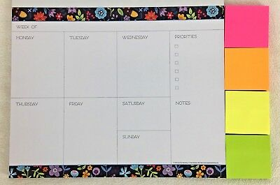 WEEKLY Planner 52 Pages Moms Family Organizer Calendar 10