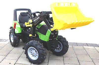 rolly toys 710157 Deutz Fahr Agrotron 7250  m. Frontl. Luftber. Schaltung Bremse