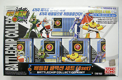 TAKARA Rockman EXE (Mega Man) : BATTLE CHIP COLLECTION 4-SET