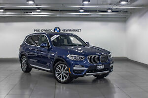 2018 BMW X3 Xdrive30i -ONE Owner|NAV|