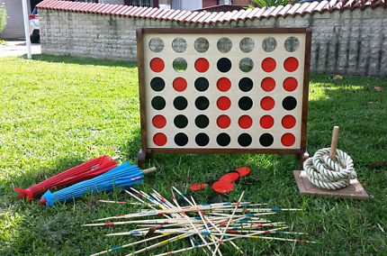 Hire connect 4 and 2 other lawn games giant games