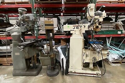 Jet Vertical Milling Machine Bridgeport Milling Machine Both