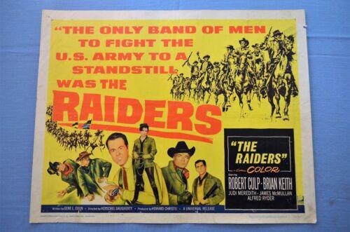 "Vintage Movie Poster,  ""The Raiders"" (1964)"