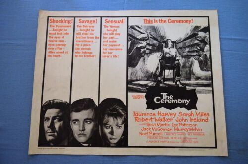 "Vintage Movie Poster, ""The Ceremony"" (1963)"