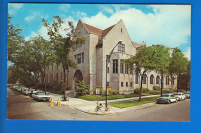 University of Chicago The Oriental Intsitue Chicago IL Postcard!