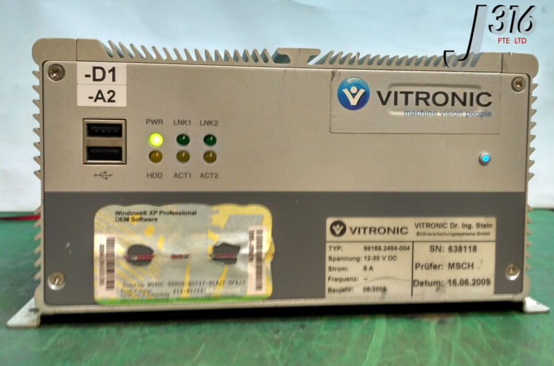 9737 VITRONIC NEXCOM INDUSTRIAL EMBEDDED CONTROLLER NISE3100P2