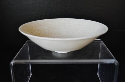 13th ct. Song Dynasty Chinese monochrome white glaze porcelain Ding Ware bowl
