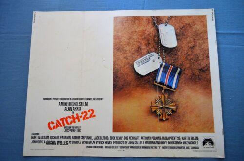 "Vintage Movie Poster,  ""Catch-22"" (1970)"