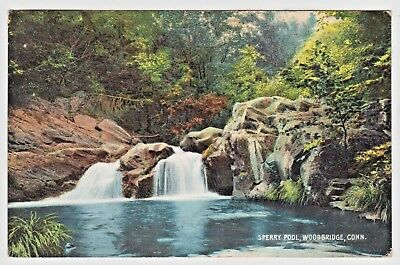 Vintage Postcard — Sperry Pool Woodbridge CT Connecticut very beautiful color for sale  New Windsor