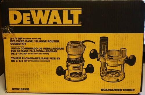 DEWALT DW618PKB ROUTER COMBO KIT