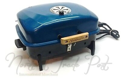 Sunbeam Grill Replacement Parts (Sunbeam Replacement Parts for Model BC1712E Blue Electric BBQ Grill -Select)