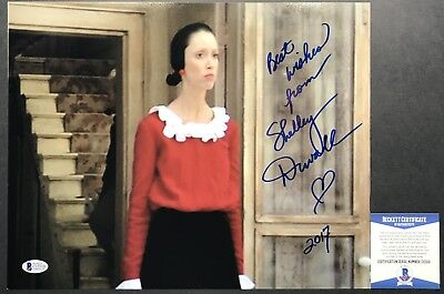 Rare    Shelley Duvall Olive Oyle Popeye Signed 11X14 Photo  5 Beckett Bas
