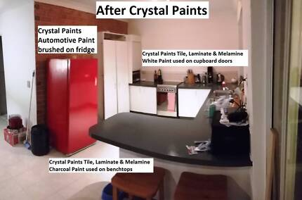 KITCHEN MAKE OVER PAINT NEW PRODUCT EASY TO USE MANY COLOURS