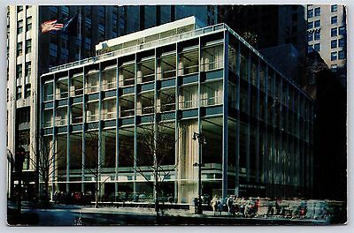 Party City Ny Ny (Manufacturers Trust Company New York City, NY 43rd Street Chrome Postcard)