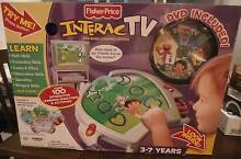 FISHER PRICE INTERACTV DVD BASED LEARNING SYSTEM NEW rrp $200 Richmond Yarra Area Preview