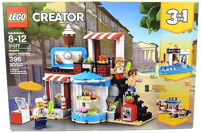 New Factory Sealed LEGO 31077 Creator 3-In-1 Modular Sweet Surprises