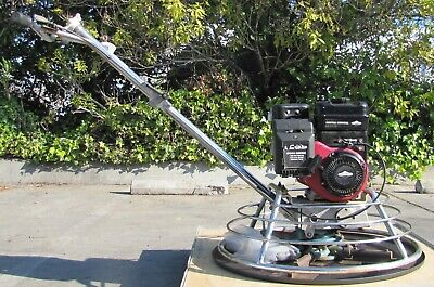 Central Machinery 30 Walk Behind Concrete Power Trowel Finisher Gas Engine 1