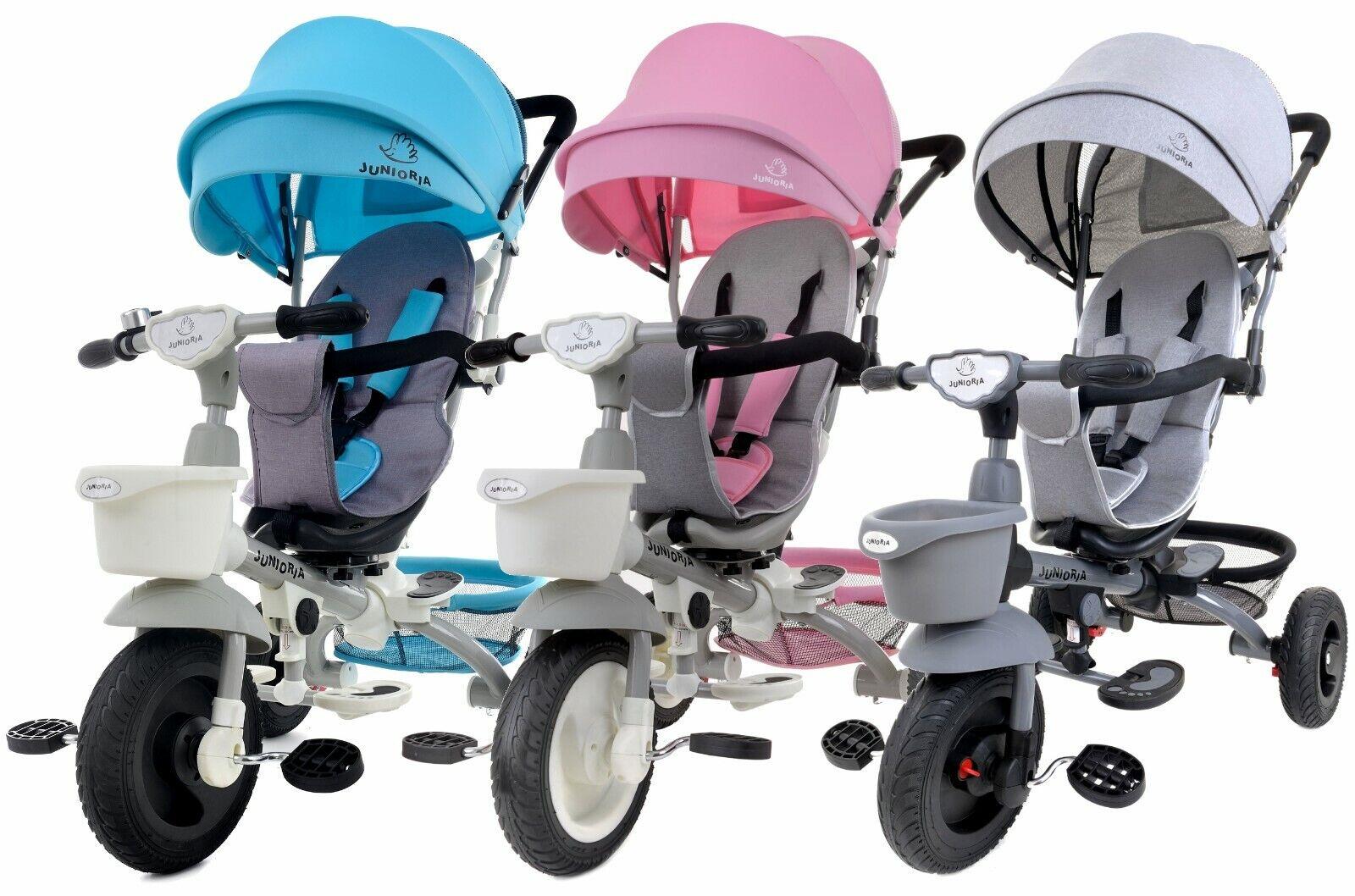 Dreirad Kinderdreirad Fahrrad Bonbon 360 Kinder Lenkstange Baby Kinderwagen