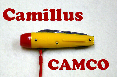 Vintage Camillus CAMCO Rocket Whistle Buck Rogers Knife yr 1955 (NEW/never used)