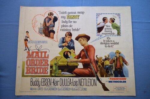"Vintage Movie Poster, ""Mail Order Bride"" (1964)"
