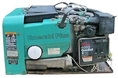 Cummins Onan Emerald Genset 4000 Watt Rv Generator 4 Kw