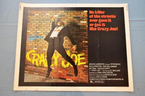 "Vintage Movie Poster, ""Crazy Joe,"" 1974"
