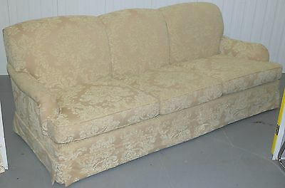 RRP £9155 BEAUMONT AND FLETCHER BROOKE HOWARD FORM SOFA WITH DAMASK UPHOLSTERY