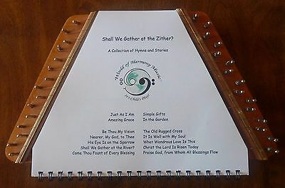 Zither Lap Harp Sheet Music ~ Hymn Music Book and Stories